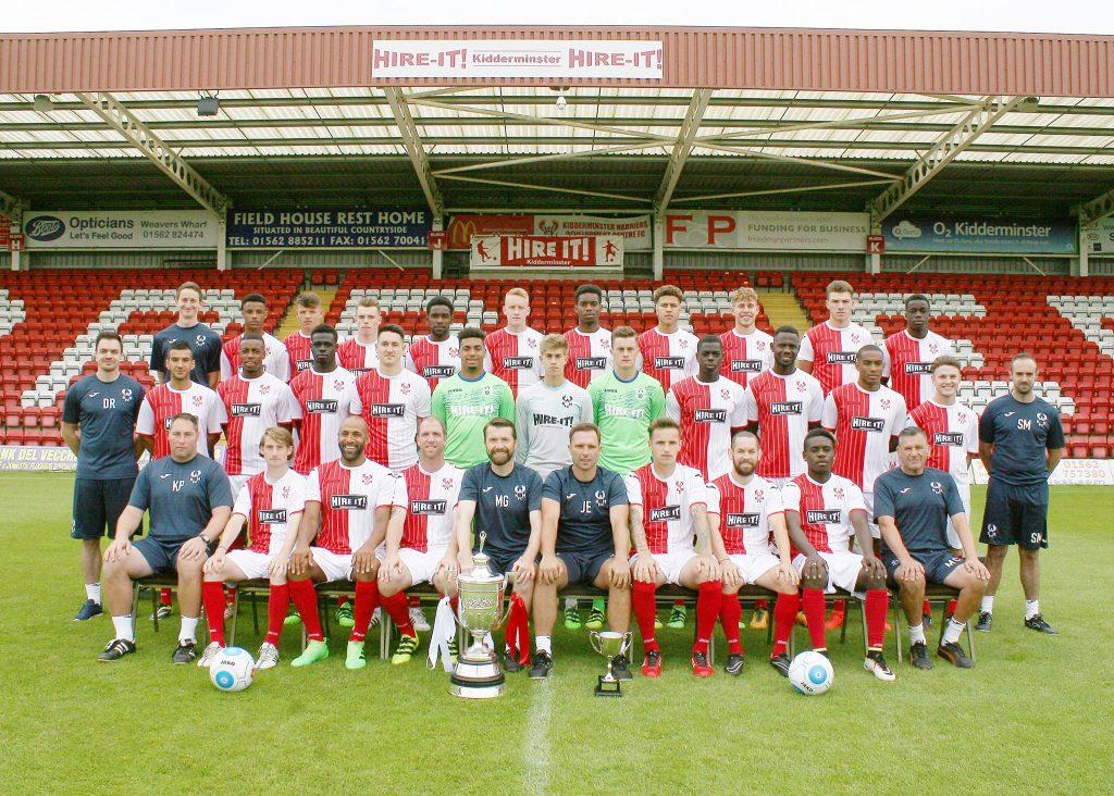 Kidderminster Harriers FC squad 2016-2017