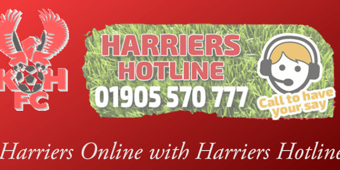 03-07-17 – Harriers Online with Harriers Hotline