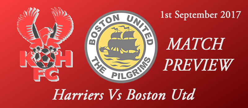 01-09-17 - Preview - Harriers Vs Boston Utd