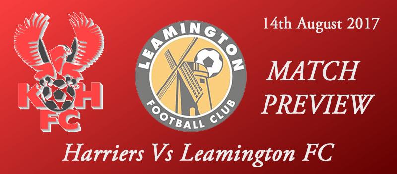 14-08-17 - Preview - Harriers Vs Leamington FC