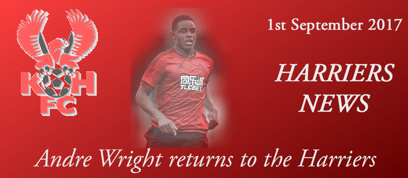 01-09-17 - Andre Wright returns to the Harriers