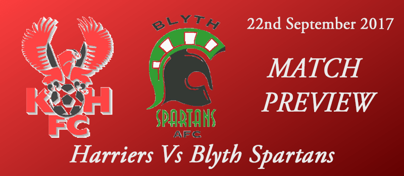 22-09-17 - Preview - Harriers Vs Blyth Spartans