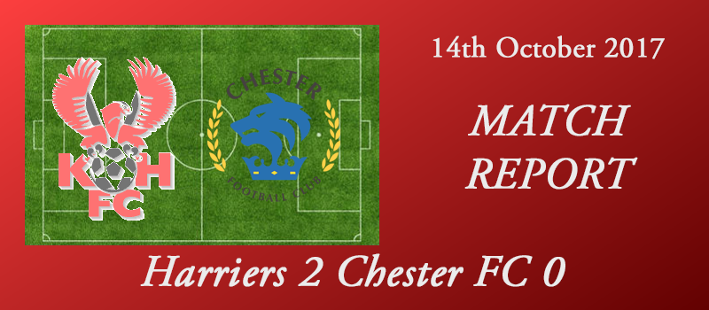 14-10-17 – Report – FA Cup 4th qual rd – Harriers 2 Chester FC 0