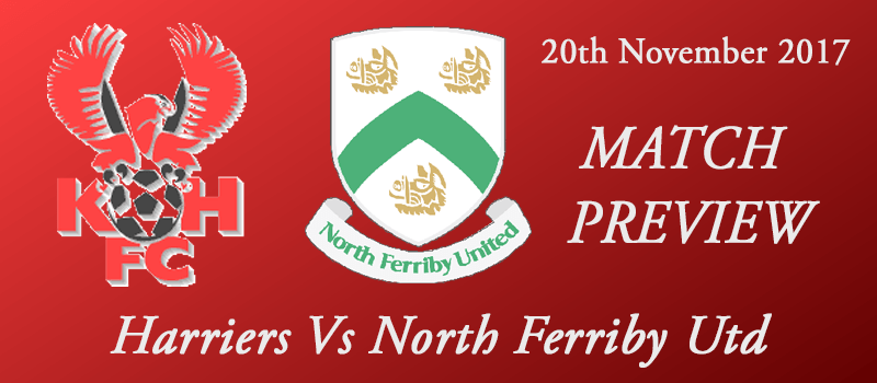20-11-17 - Preview - Harriers Vs North Ferriby Utd