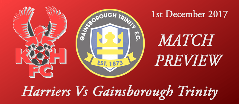 01-12-17 - Preview - Harriers Vs Gainsborough Trinity