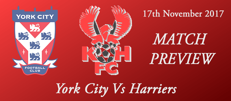 17-11-17 - Preview - York City Vs Harriers