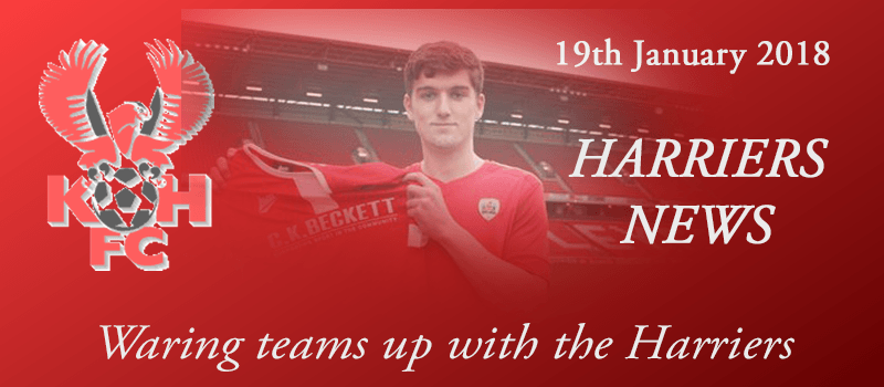 19-01-18 - News - Waring teams up with the Harriers