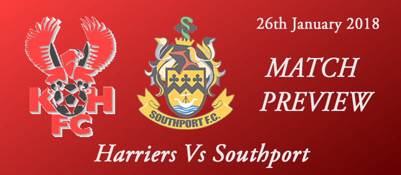 26-01-18 - Preview - Harriers Vs Southport