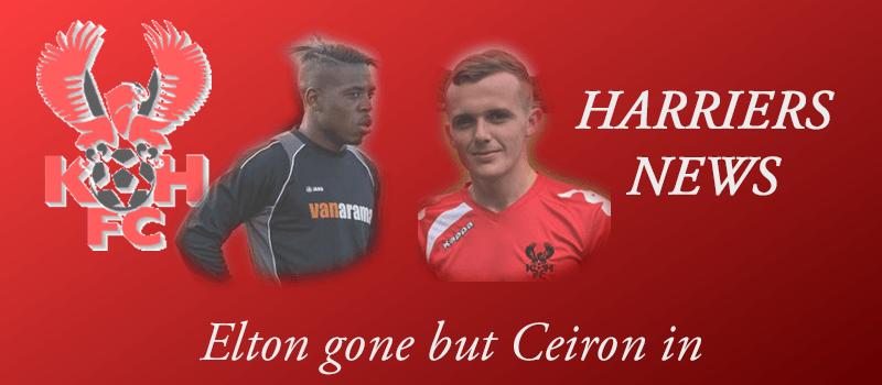 Elton gone but Cieron in