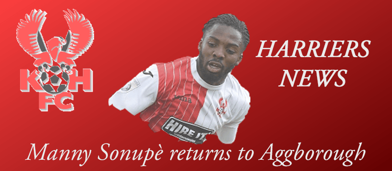 Manny Sonupè returns to Aggborough