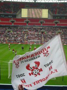 Harriers v Stevenage at Wembley. FA Trophy final 2007
