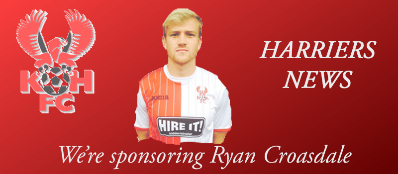 Harriers Online are sponsoring Ryan Croasdale
