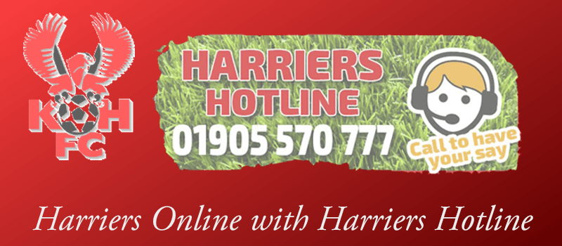 Harriers Online with Harriers Hotline