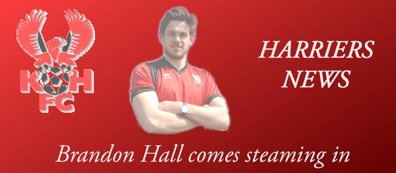 Brandon Hall comes steaming in