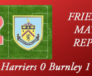 22-07-17 – Harriers 0 Burnley 1