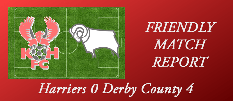 Harriers 0 Derby County 4