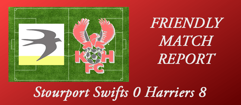 Stourport Swifts 0 Harriers 8