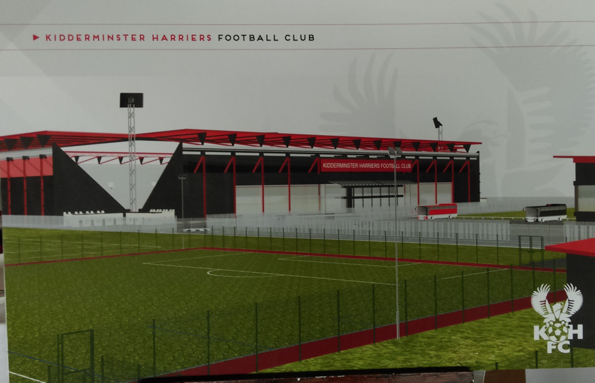 17-08-17 – Harriers announce new stadium plans
