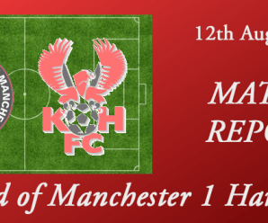 12-08-17 – Report – FC Utd of Manchester 1 Harriers 2