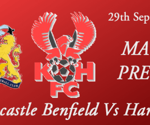 29-09-17 – Preview – FA Cup 3rd Qual Rd – Newcastle Benfield Vs Harriers