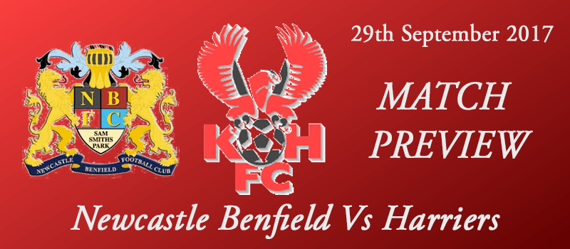 29-09-17 - Preview - FA Cup 3rd Qual Rd - Newcastle Benfield Vs Harriers