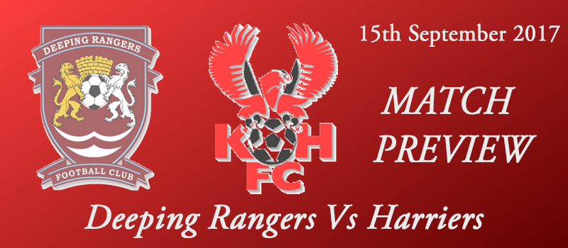 15-09-17 - Preview - FA Cup 2nd Qual Rd - Deeping Rangers Vs Harriers