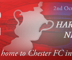 02-10-17 – Harriers home to Chester FC in the Cup