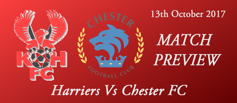 13-10-17 – Preview – FA Cup 4th Qual Rd – Harriers Vs Chester FC