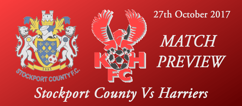 27-10-17 - Preview - Stockport County Vs Harriers