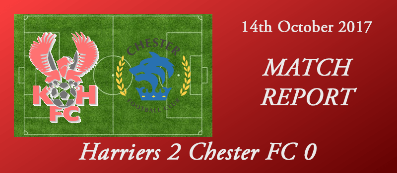 14-10-17 - FA Cup 4th qual rd - Harriers 2 Chester FC 0