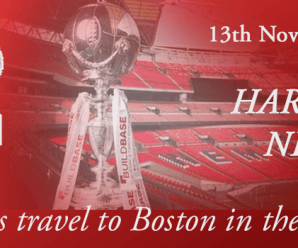 13-11-17 – Harriers travel to Boston in the Trophy