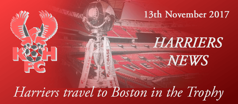 13-11-17 - Harriers travel to Boston in the Trophy