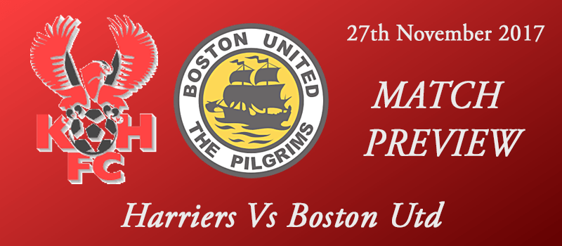 27-11-17 - Preview - Harriers Vs Boston Utd