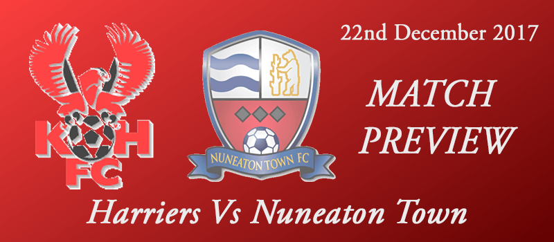 23-12-17 - Preview - Harriers Vs Nuneaton Town