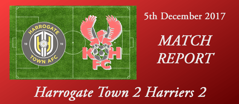 05-12-17 - Report - Harrogate Town 2 Harriers 2