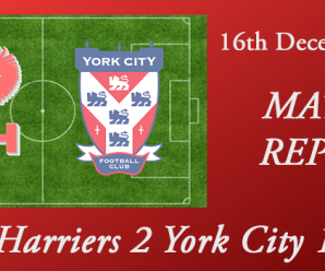 16-12-17 – Report – Harriers 2 York City 1