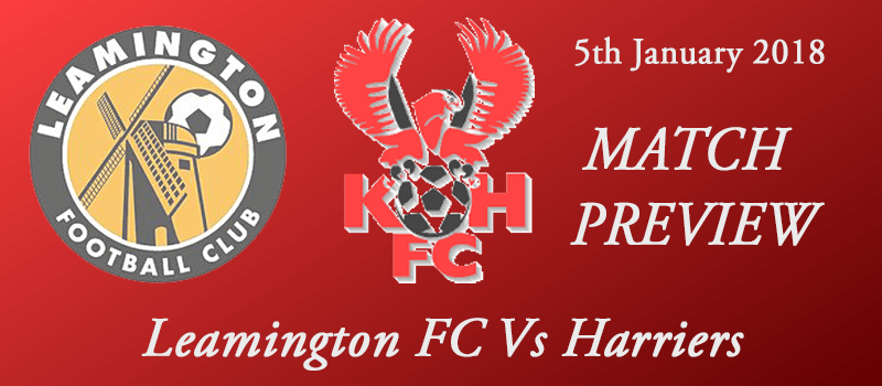 05-01-18 - Preview - Leamington FC Vs Harriers