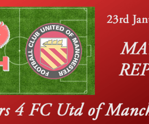 23-01-18 – Report – Harriers 4 FC Utd of Manchester 0