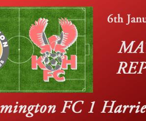06-01-18 – Report – Leamington FC 1 Harriers 1