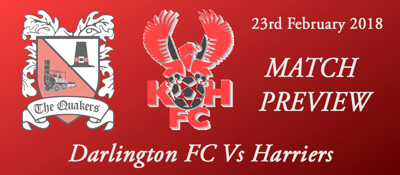 23-02-18 - Preview - Darlington FC Vs Harriers