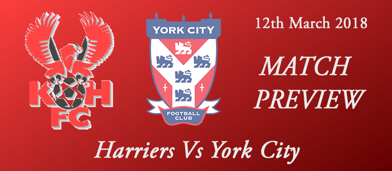 12-03-18 - Preview - Harriers Vs York City
