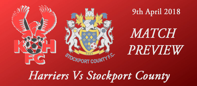 09-04-18 - Preview - Harriers Vs Stockport County