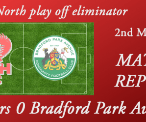 02-05-18 – Report – Harriers 0 Bradford Park Avenue 2