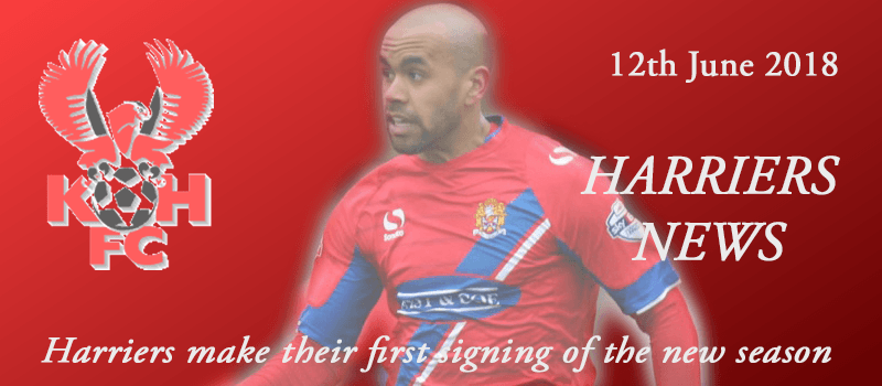 News - 12-06-18 - Harriers make their first signing of the new season