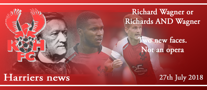27-07-18 – News – Richard Wagner or Richards AND Wagner