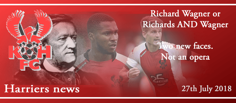 27-07-18 - News - Richard Wagner or Richards AND Wagner