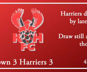 04-08-18 – Report – Alfreton Town 3 Harriers 3