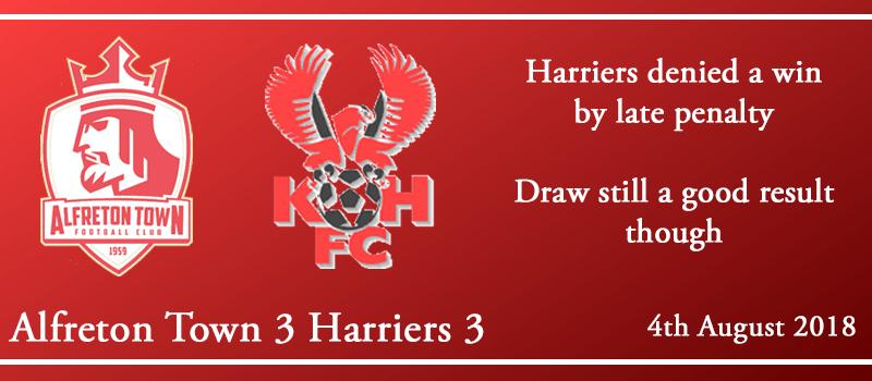 04-08-18 – Report – Alfreton Town 3 Harriers 3
