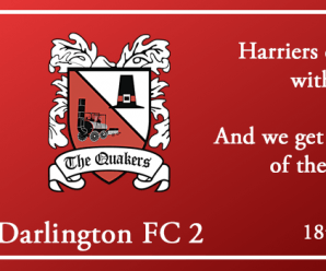 18-08-18 – Report – Kidderminster Harriers 5 Darlington FC 2