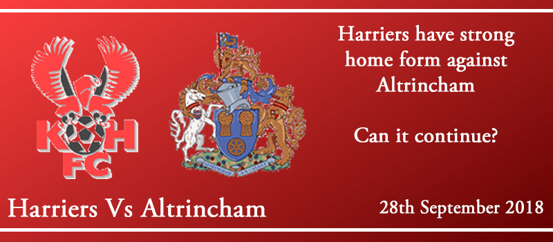 28-09-18 - Preview - Kidderminster Harriers Vs Altrincham